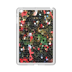Colorful Abstract Background iPad Mini 2 Enamel Coated Cases