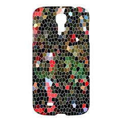 Colorful Abstract Background Samsung Galaxy S4 I9500/i9505 Hardshell Case