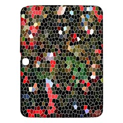 Colorful Abstract Background Samsung Galaxy Tab 3 (10.1 ) P5200 Hardshell Case