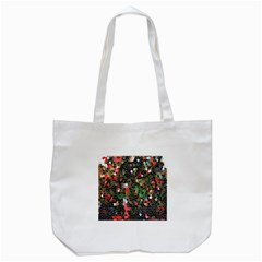 Colorful Abstract Background Tote Bag (White)