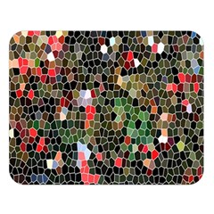 Colorful Abstract Background Double Sided Flano Blanket (Large)