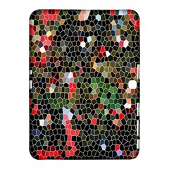 Colorful Abstract Background Samsung Galaxy Tab 4 (10.1 ) Hardshell Case