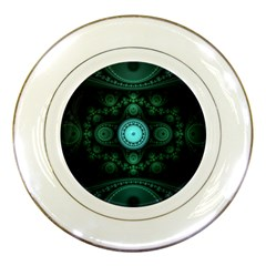 Grand Julian Fractal Porcelain Plates