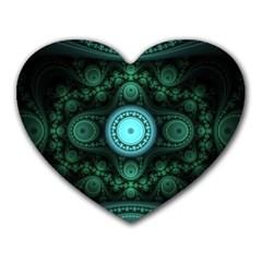Grand Julian Fractal Heart Mousepads