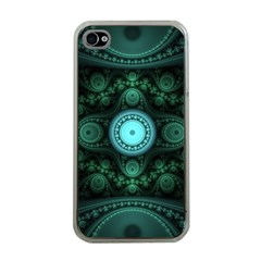Grand Julian Fractal Apple iPhone 4 Case (Clear)