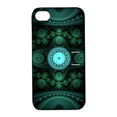 Grand Julian Fractal Apple iPhone 4/4S Hardshell Case with Stand