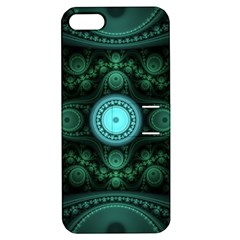 Grand Julian Fractal Apple iPhone 5 Hardshell Case with Stand