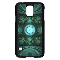 Grand Julian Fractal Samsung Galaxy S5 Case (Black)