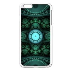 Grand Julian Fractal Apple iPhone 6 Plus/6S Plus Enamel White Case