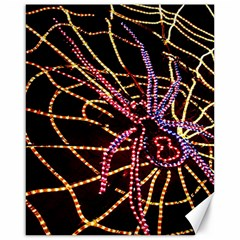 Black Widow Spider, Yellow Web Canvas 16  X 20