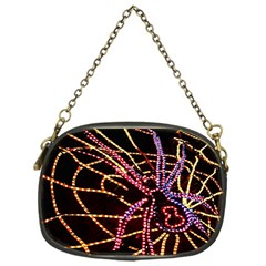 Black Widow Spider, Yellow Web Chain Purses (one Side)