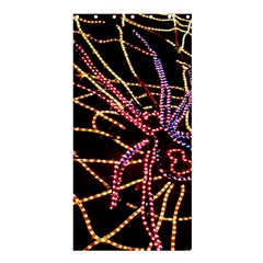 Black Widow Spider, Yellow Web Shower Curtain 36  x 72  (Stall)