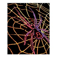 Black Widow Spider, Yellow Web Shower Curtain 60  X 72  (medium)