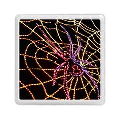 Black Widow Spider, Yellow Web Memory Card Reader (square)