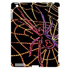 Black Widow Spider, Yellow Web Apple iPad 3/4 Hardshell Case (Compatible with Smart Cover)