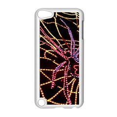 Black Widow Spider, Yellow Web Apple iPod Touch 5 Case (White)