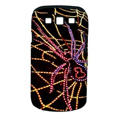 Black Widow Spider, Yellow Web Samsung Galaxy S III Classic Hardshell Case (PC+Silicone)