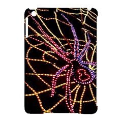 Black Widow Spider, Yellow Web Apple iPad Mini Hardshell Case (Compatible with Smart Cover)