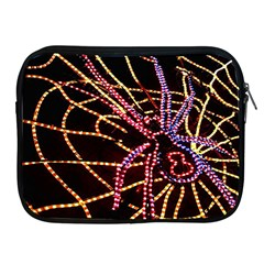 Black Widow Spider, Yellow Web Apple iPad 2/3/4 Zipper Cases