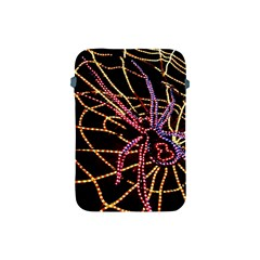 Black Widow Spider, Yellow Web Apple Ipad Mini Protective Soft Cases