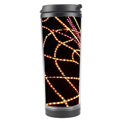 Black Widow Spider, Yellow Web Travel Tumbler