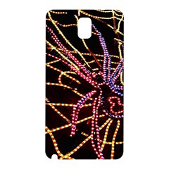 Black Widow Spider, Yellow Web Samsung Galaxy Note 3 N9005 Hardshell Back Case