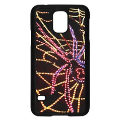 Black Widow Spider, Yellow Web Samsung Galaxy S5 Case (Black)