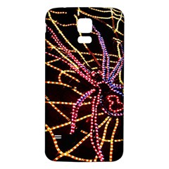 Black Widow Spider, Yellow Web Samsung Galaxy S5 Back Case (White)