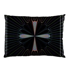 Fractal Rays Pillow Case
