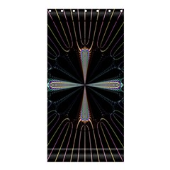 Fractal Rays Shower Curtain 36  X 72  (stall)