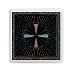 Fractal Rays Memory Card Reader (square)
