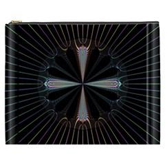 Fractal Rays Cosmetic Bag (XXXL)