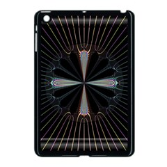 Fractal Rays Apple iPad Mini Case (Black)