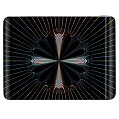 Fractal Rays Samsung Galaxy Tab 7  P1000 Flip Case