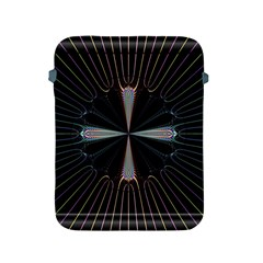 Fractal Rays Apple iPad 2/3/4 Protective Soft Cases