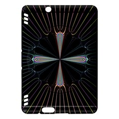 Fractal Rays Kindle Fire HDX Hardshell Case