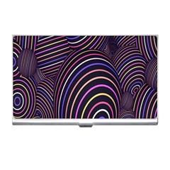 Abstract Colorful Spheres Business Card Holders
