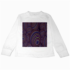 Abstract Colorful Spheres Kids Long Sleeve T Shirts