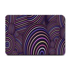 Abstract Colorful Spheres Small Doormat