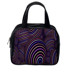 Abstract Colorful Spheres Classic Handbags (one Side)