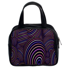 Abstract Colorful Spheres Classic Handbags (2 Sides)