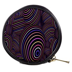 Abstract Colorful Spheres Mini Makeup Bags