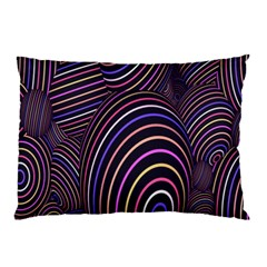 Abstract Colorful Spheres Pillow Case (Two Sides)