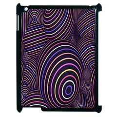 Abstract Colorful Spheres Apple iPad 2 Case (Black)
