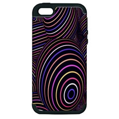 Abstract Colorful Spheres Apple iPhone 5 Hardshell Case (PC+Silicone)