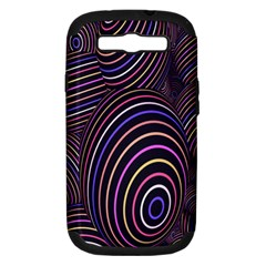 Abstract Colorful Spheres Samsung Galaxy S Iii Hardshell Case (pc+silicone)