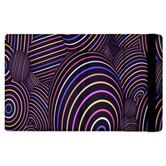 Abstract Colorful Spheres Apple iPad 3/4 Flip Case