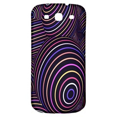 Abstract Colorful Spheres Samsung Galaxy S3 S III Classic Hardshell Back Case