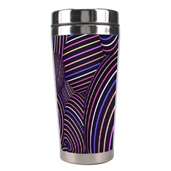 Abstract Colorful Spheres Stainless Steel Travel Tumblers
