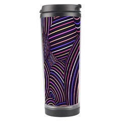 Abstract Colorful Spheres Travel Tumbler
